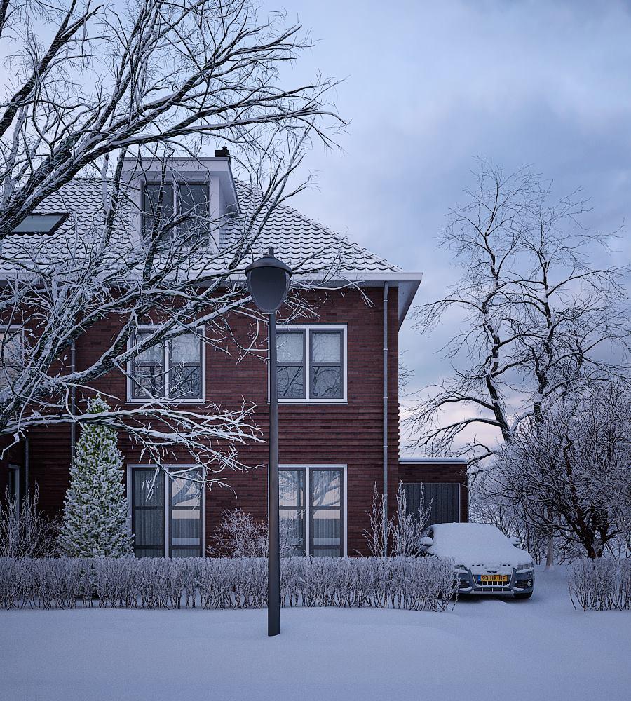 George Nijland Winter Exterior