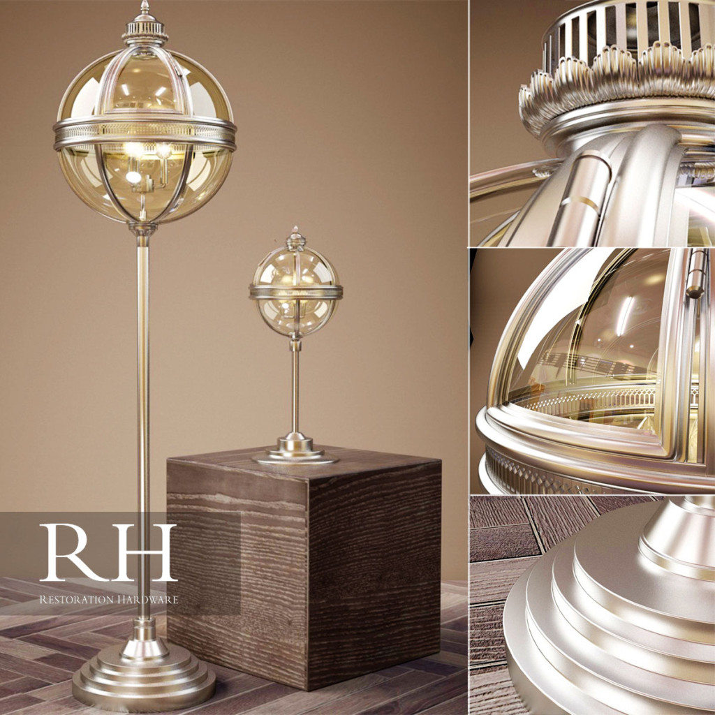 Floor lamp preview by Vladislav Voskresenski