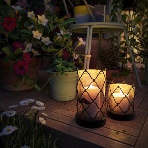Summer nights candles by Irinel Florescu
