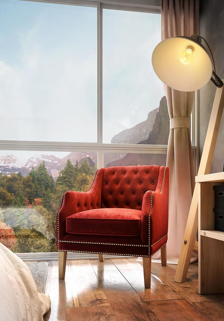 Hotel Suite in British Columbia by Felipe Walter