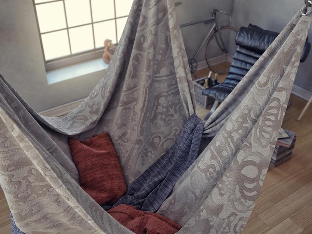 Iskren Marinov Hanging bed
