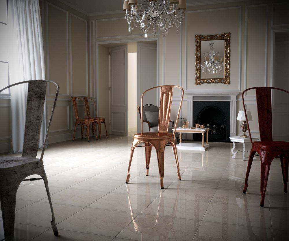 Tolix Chair by Saeed Amiri
