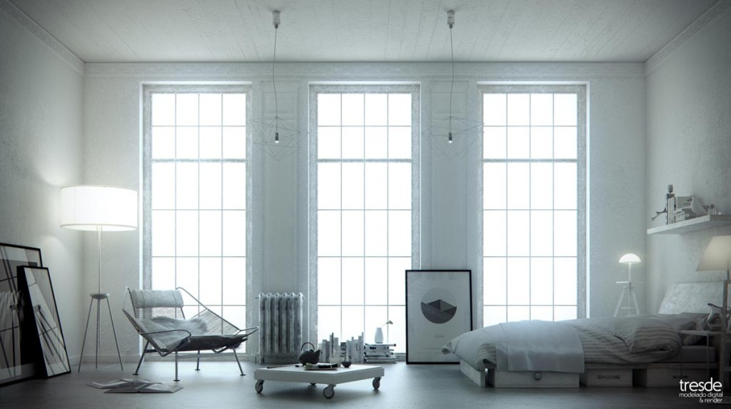 Blank & White by Santiago Sanchez