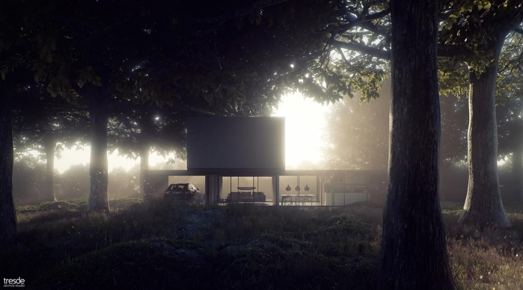 Countryside Hideaway by Santiago Sanchez