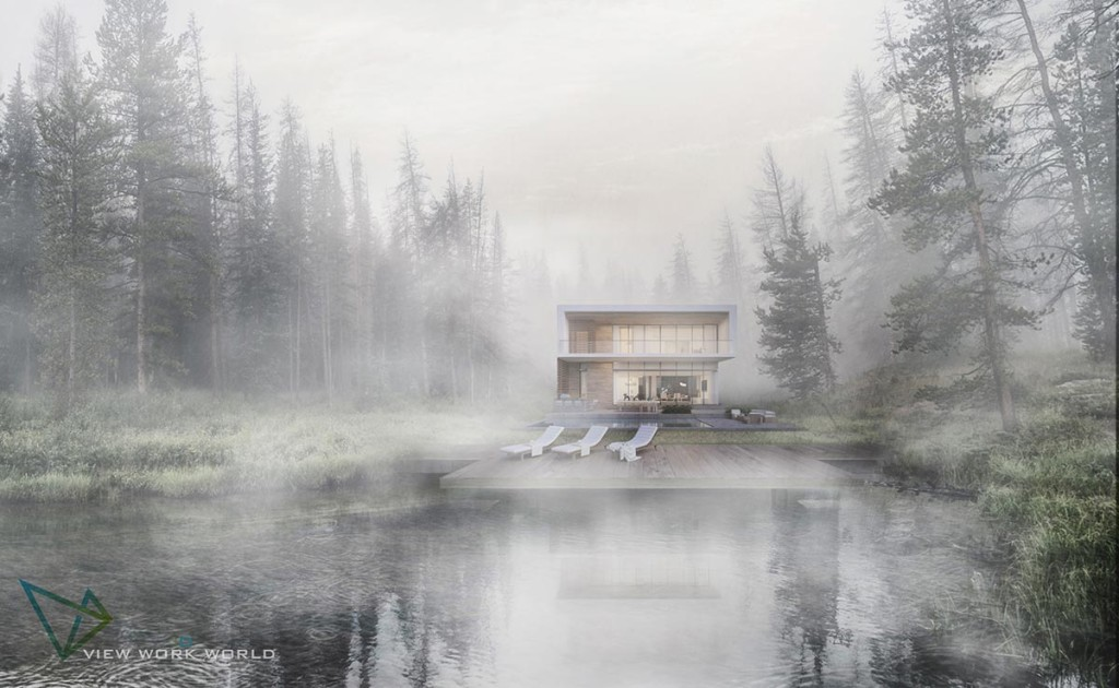 Lake house by Nguyen Quang Tuan