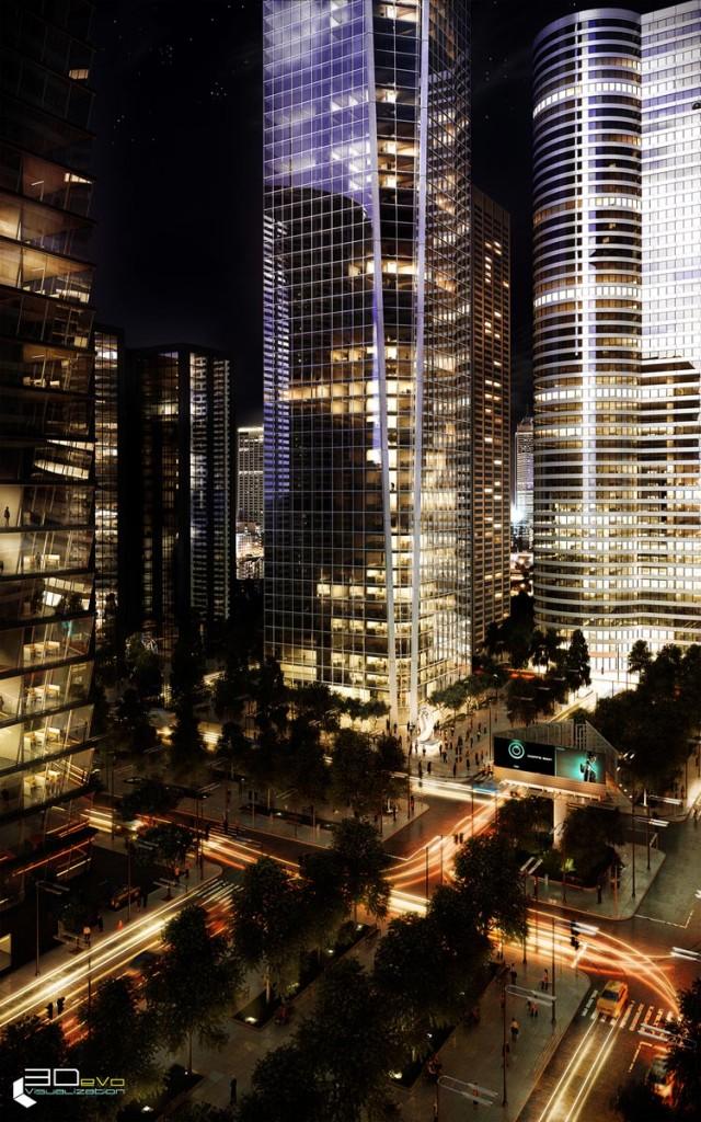 My City by Romas Noreika