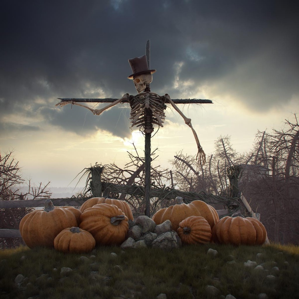 Scarecrow by Andrey Mikhalenko