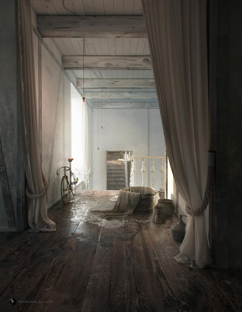 The House is empty now by Andrey Mikhalenko