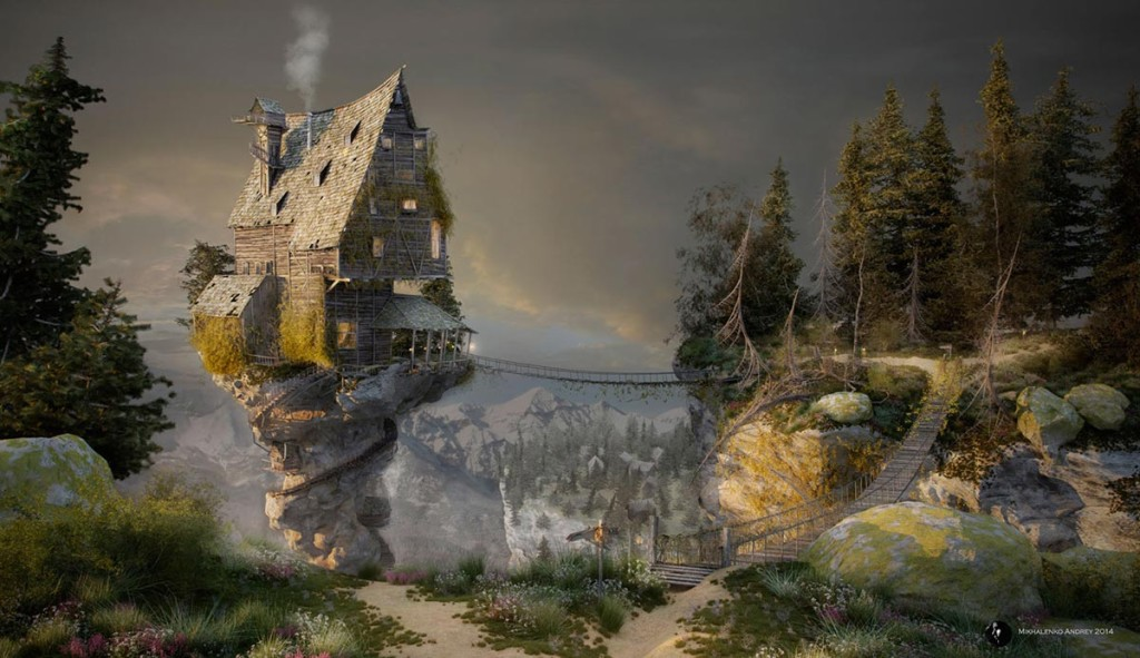 Witch's house by Andrey Mikhalenko