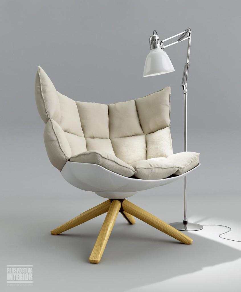 Husk armchair by Patrícia de Carvalho