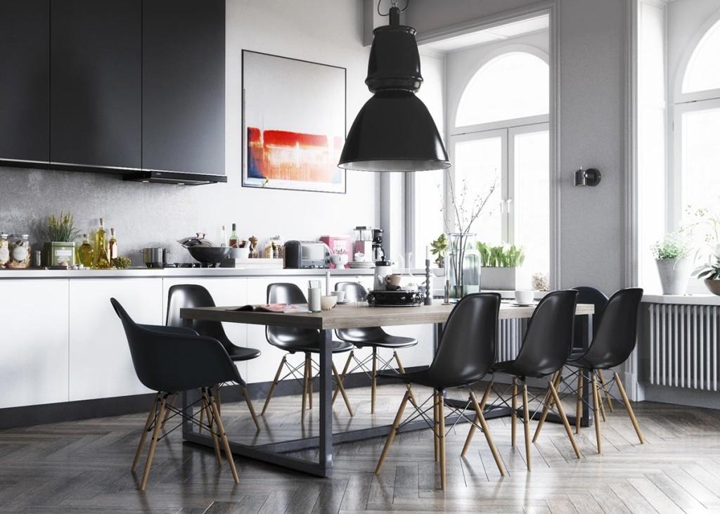 Kitchen in Sweden by Igor Kovalsky