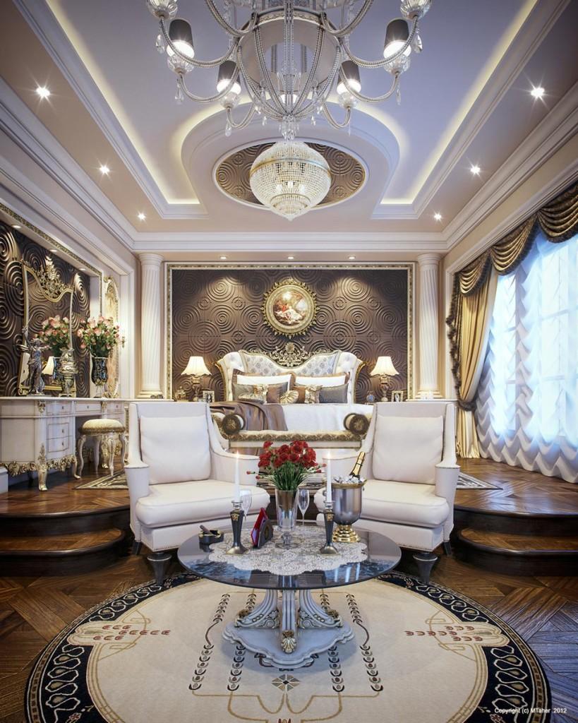 Luxury Master Bedroom by Muhammad Taher