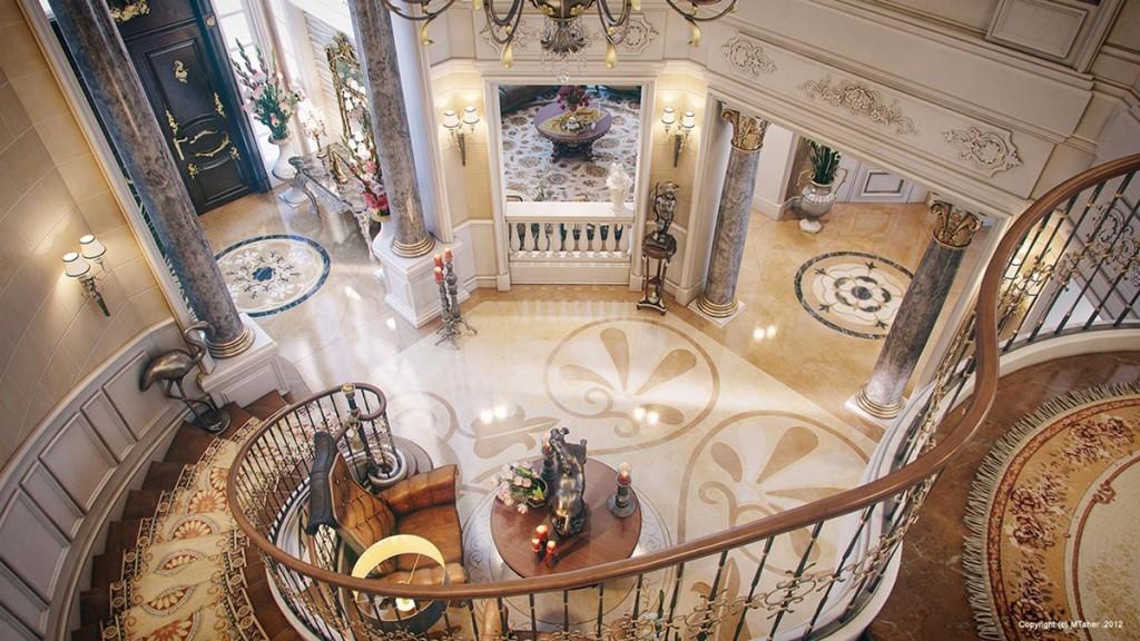 Luxury Villa Interior by Muhammad Taher