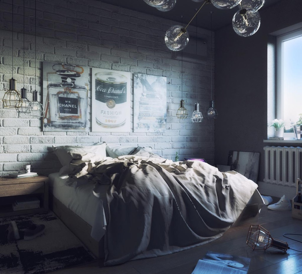 Monday Bedroom by Igor Kovalsky