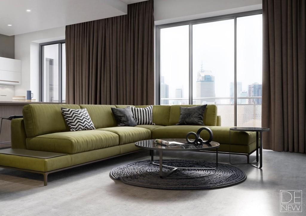Living room by Dehtiarov Pavel