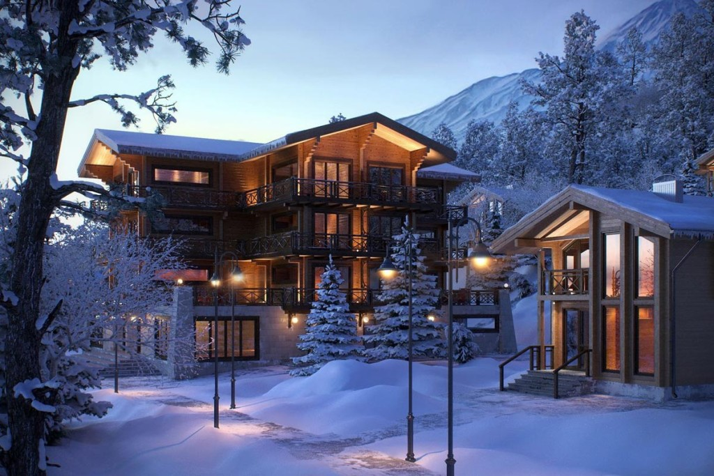 ski resort by lunas visualization