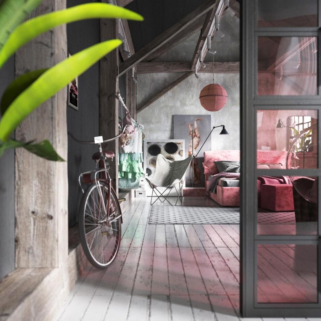 Her loft by Dmitry Boldyrev