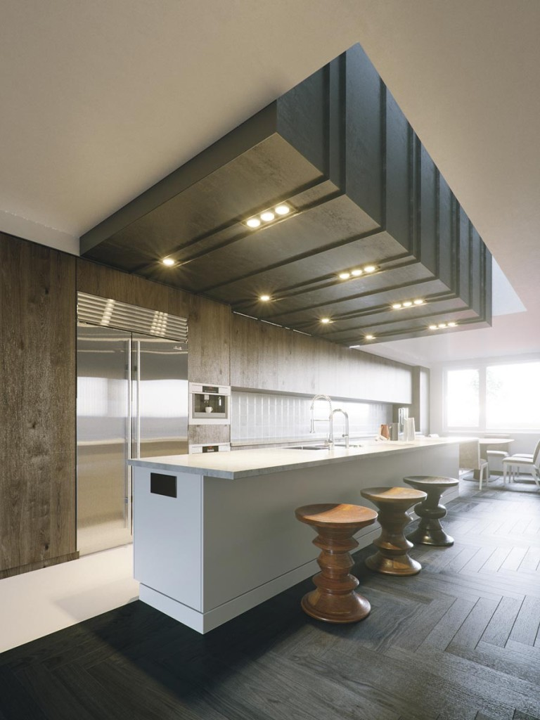 Modern Kitchen by Nguyen Ba Dung