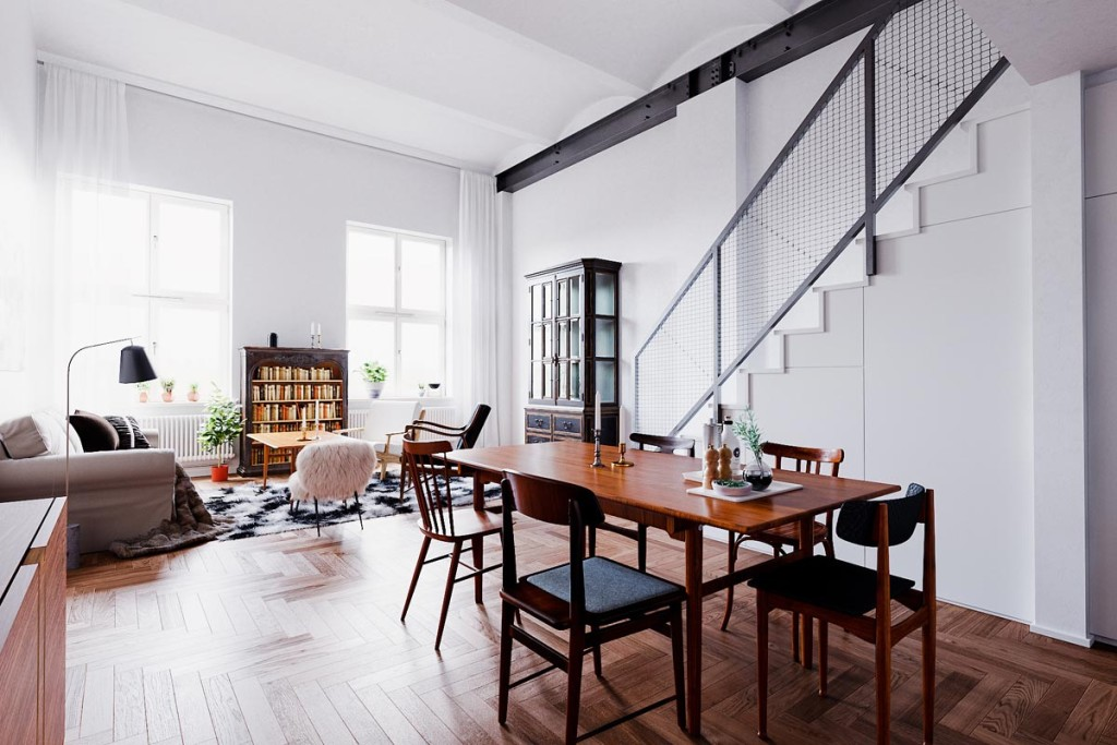 Scandinavi Apartment  by Nguyen Ba Dung