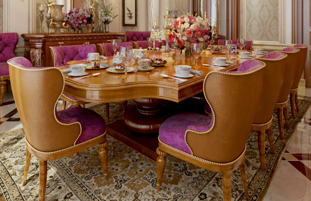 Classic dining by Ahmed Tallal