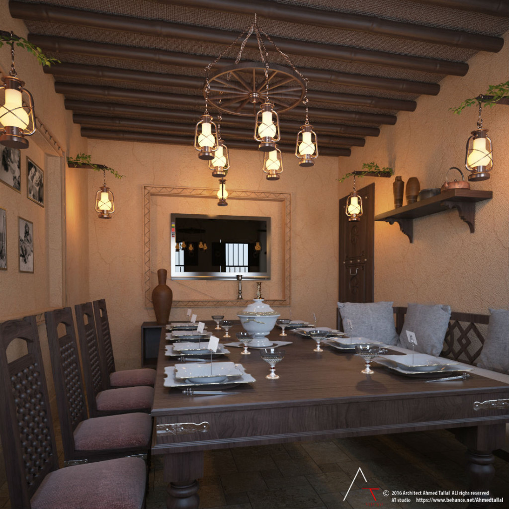 heritage restaurant by Ahmed Tallal